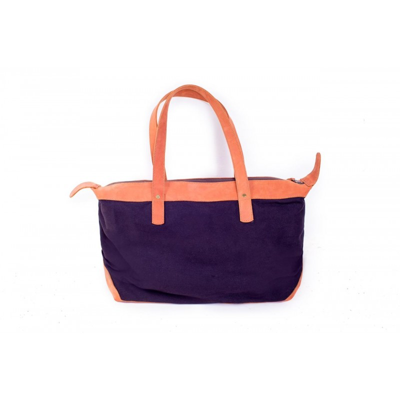 Bawa Canvas & Leather Bag
