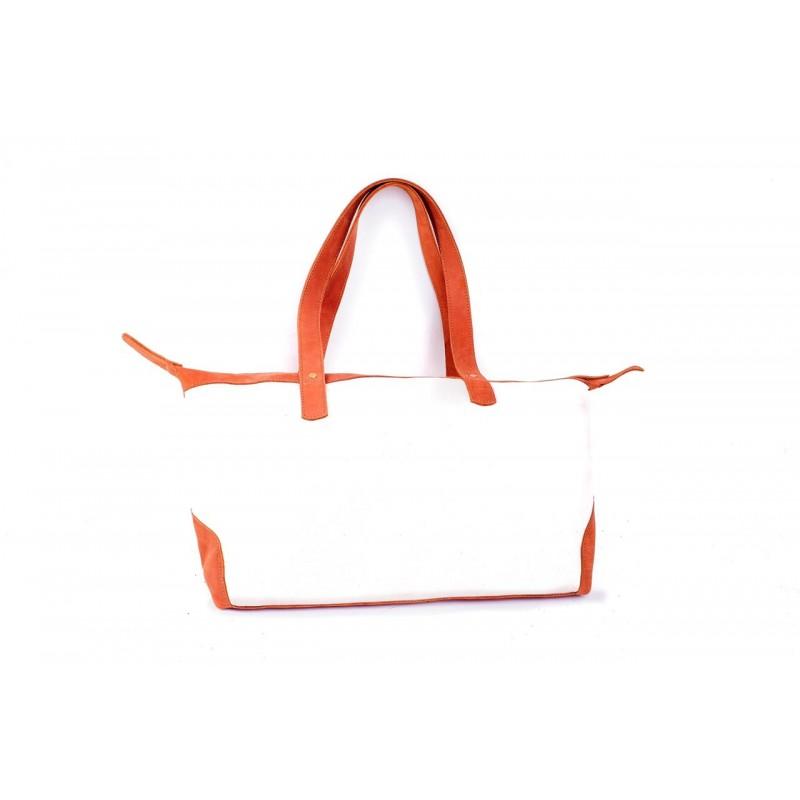 Tumaini Canvas & Leather Bag