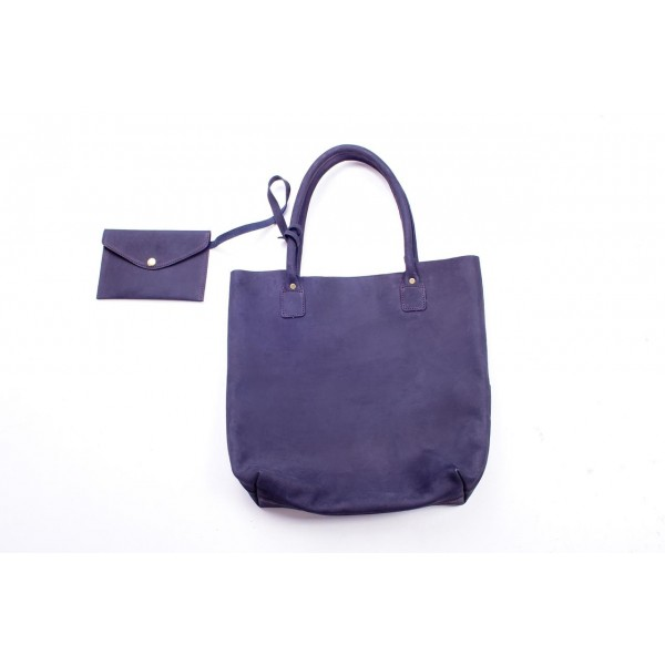 Zuri Leather Tote