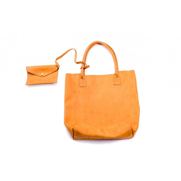 Amani Leather Tote